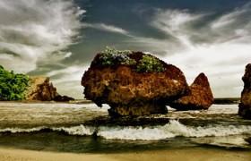 Pantai Langkap Gunung Kidul