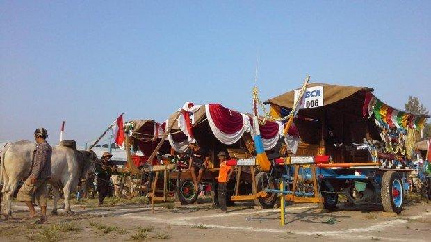 Sultan Buka Festival Gerobak Sapi 2015