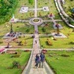 The World Landmarks Merapi Park.