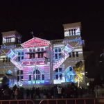 "Festival Video Mapping, dengan tema ""My Place, My Time"""