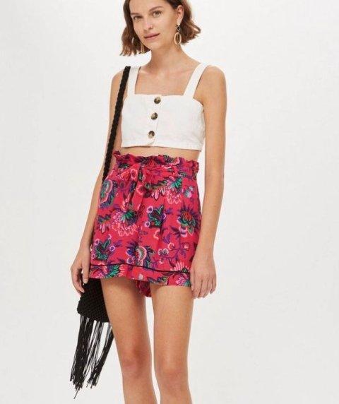printed-paper-bag-waist-shorts