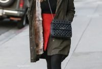 Winter Outfits With Trendy Combat Boots 2