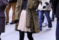 Winter Outfits With Trendy Combat Boots