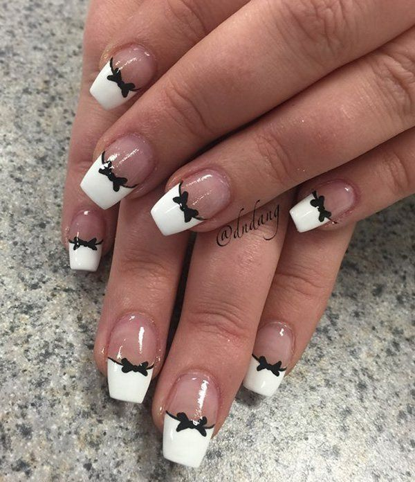 7  Amazing French Manicure Nail Art Designs Ideas