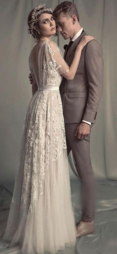 Amazing 1920's Style Wedding Dresses