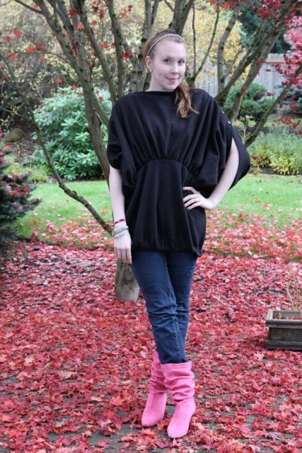 Fall Looks with Slouch Boots