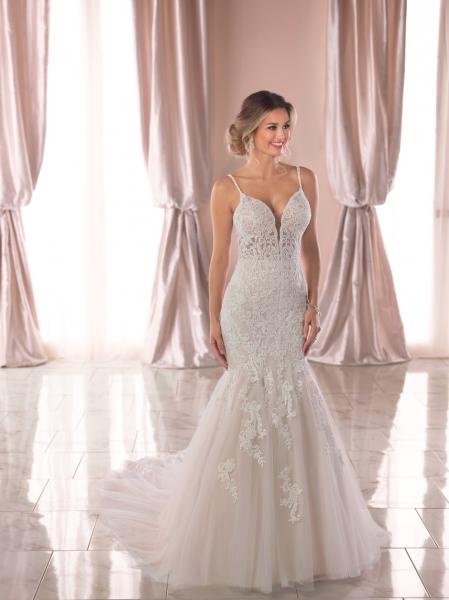 Gorgeous Spaghetti Strap Wedding Dresses